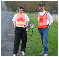 Image of race directors Steven Bodner (left) and MIke Casper (right)
