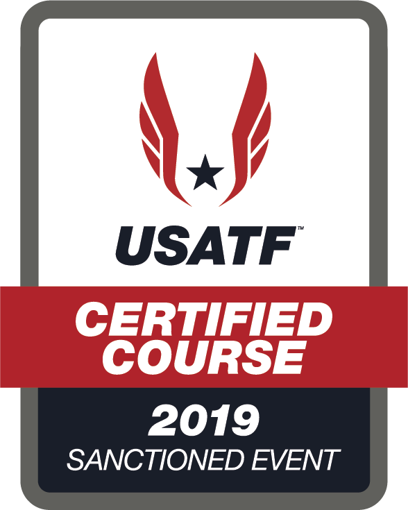 USATF Certified Course Sanctioned Event Logo 2019